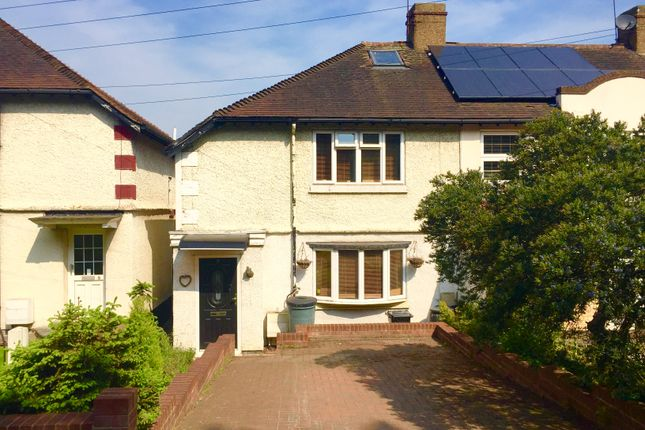 Thumbnail End terrace house for sale in Liberty Cottages, Havering Atte Bower, Romford