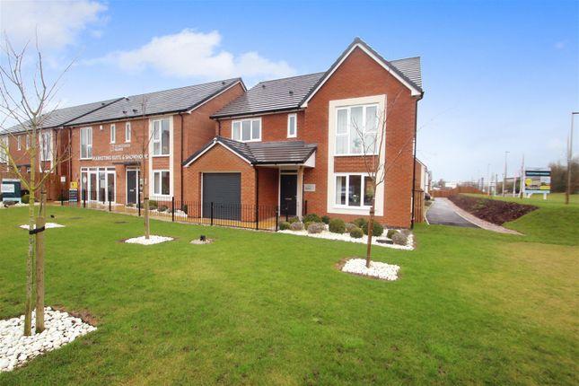 Thumbnail Detached house for sale in The Keyne, Trentham Manor, Stoke-On-Trent