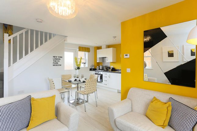 """Thumbnail Semi-detached house for sale in """"Amber"""" at Woodcock Square, Mickleover, Derby"""