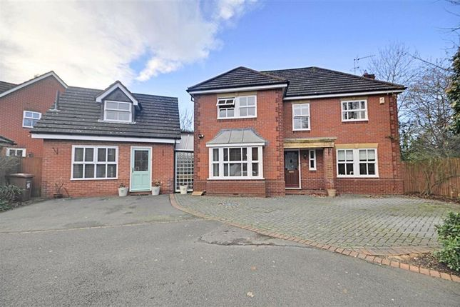 Thumbnail Detached house for sale in Wirlpiece Avenue, Warndon, Worcester