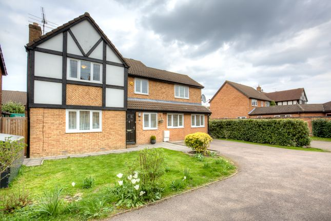 Thumbnail Detached house for sale in Marquis Close, Bishop's Stortford