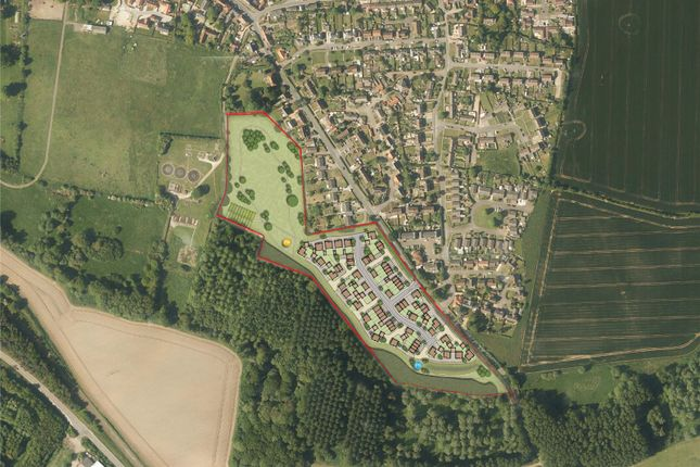 Thumbnail Land for sale in Land West Of Fishponds Way, Haughley, Stowmarket, Suffolk
