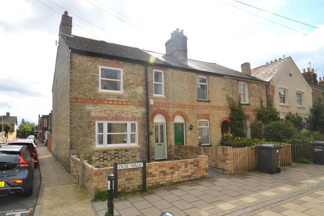 Thumbnail End terrace house to rent in Ouse Walk, Huntingdon, Cambridgeshire