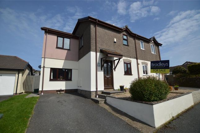 Thumbnail Semi-detached house for sale in Amal An Avon, Phillack, Hayle, Cornwall