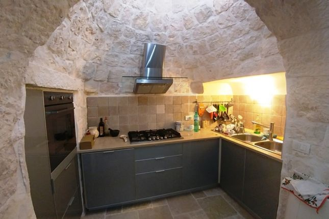 Kitchen of Trullo Povia, Ostuni, Puglia, Italy