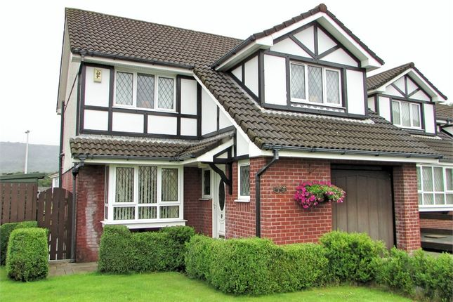 Thumbnail Detached house for sale in Tudor Gardens, Waunceirch, Neath, West Glamorgan