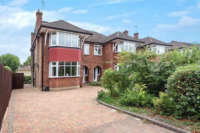 Thumbnail Semi-detached house for sale in Park Avenue, Bush Hill Park, Enfield