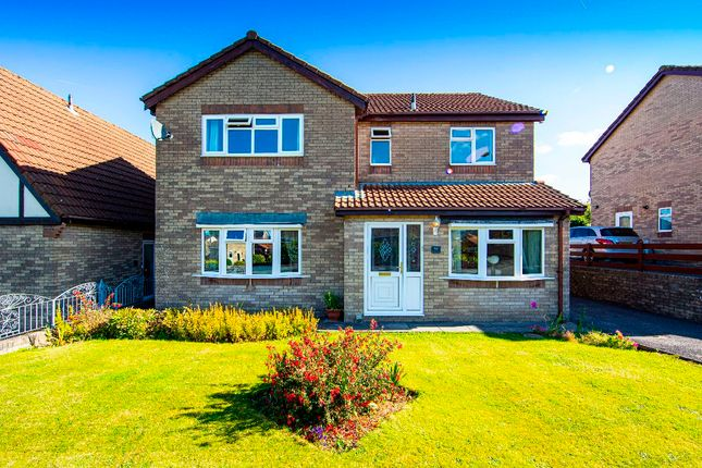 Thumbnail Detached house for sale in The Hollies, Quakers Yard, Treharris