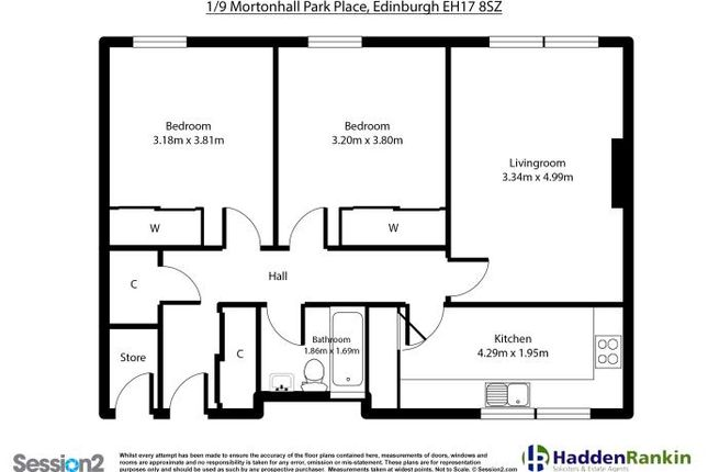 Thumbnail Flat to rent in Mortonhall Park Place, Edinburgh