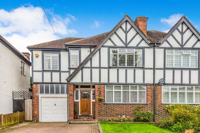 Thumbnail Semi-detached house for sale in Quarry Rise, Cheam, Surrey