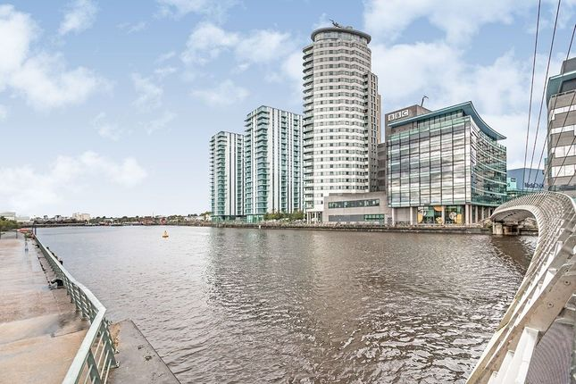 Thumbnail Flat to rent in The Lightbox Media City Uk, Salford