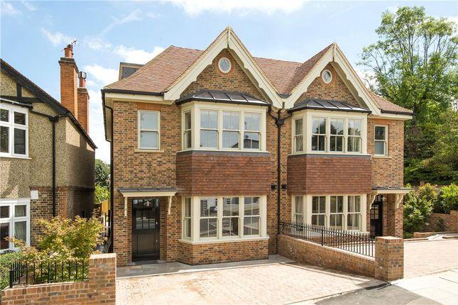 Thumbnail Semi-detached house for sale in Marryat Road, Wimbledon Village, Wimbledon Village