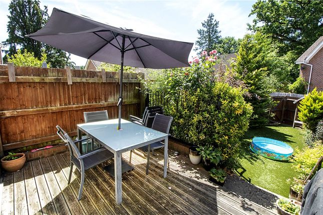 Garden of Hawkley Way, Elvetham Heath, Hampshire GU51