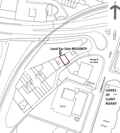 Thumbnail Land for sale in Railway Terrace, Talbot Green, Pontyclun