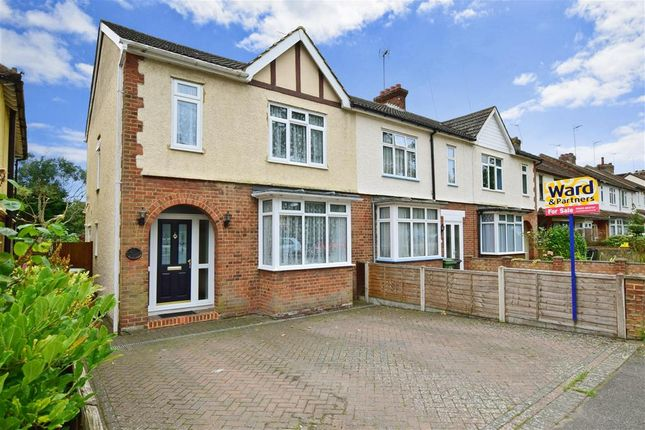 Thumbnail End terrace house for sale in St. Andrews Road, Maidstone, Kent