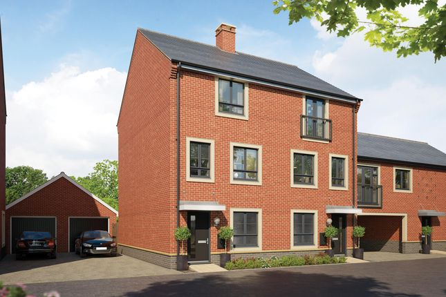 Thumbnail Semi-detached house for sale in Boxted Road, Colchester, Essex