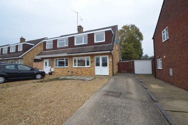 Thumbnail Semi-detached house for sale in Bilsdon Close, Rushden