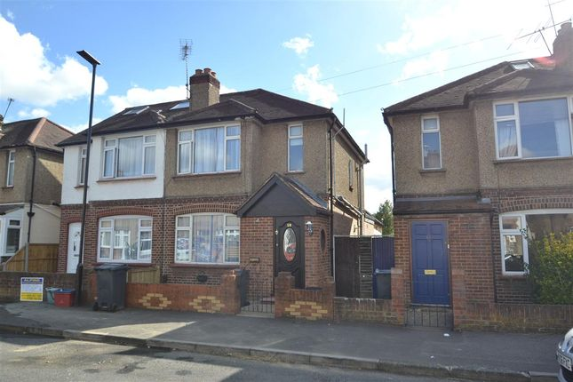 Thumbnail Semi-detached house for sale in Craigwell Avenue, Feltham
