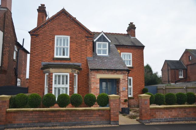 Thumbnail Detached house for sale in Leicester Road, Ashby De La Zouch