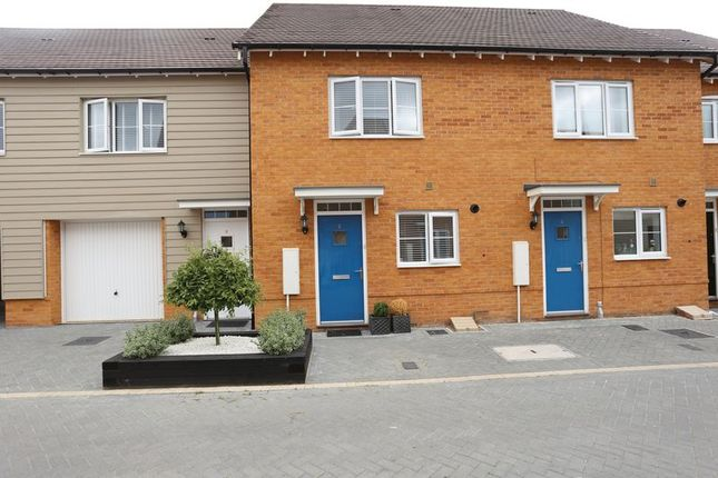 Thumbnail Terraced house to rent in Foxglove, Woodley, Reading