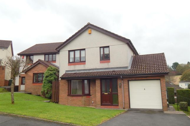 Thumbnail Detached house for sale in Clos Sant Teilo, Llangyfelach, Swansea
