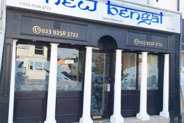 Thumbnail Restaurant/cafe for sale in 27 Stoke Road, Gosport