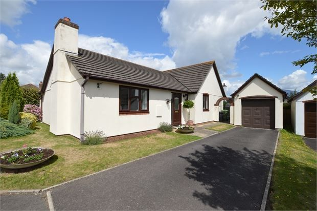 Thumbnail Detached bungalow for sale in Abbotsridge Drive, East Ogwell, Newton Abbot, Devon.