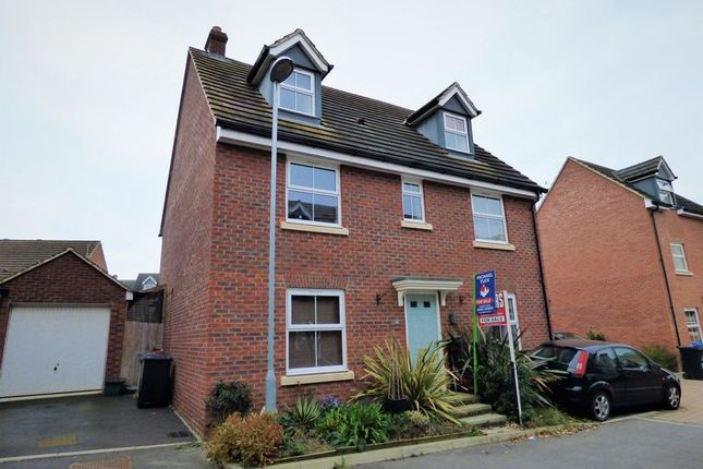 Thumbnail Detached house for sale in Mona Avenue Kingsway, Quedgeley, Gloucester