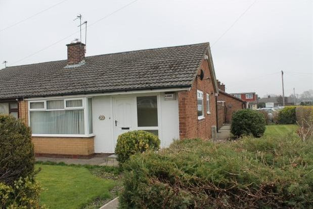Thumbnail Bungalow to rent in Orchard Street, Fearnhead