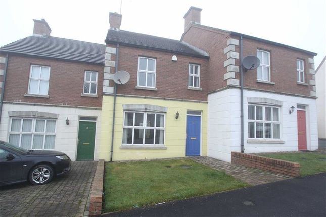 Thumbnail Terraced house for sale in Riverview Heights, Ballynahinch, Down