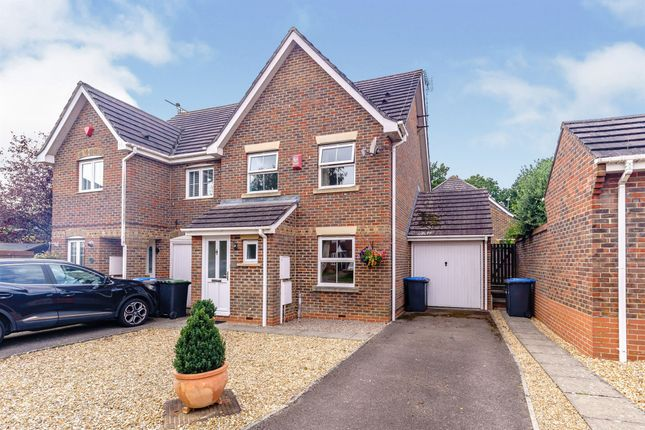 Thumbnail Semi-detached house for sale in The Hornbeams, Burgess Hill