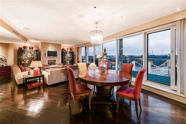 Thumbnail Flat for sale in Three Bedroom Penthouse. Chelsea Bridge Wharf