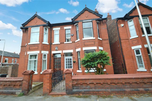 Thumbnail Semi-detached house for sale in Sherborne Road, Cheadle Heath, Stockport, Cheshire
