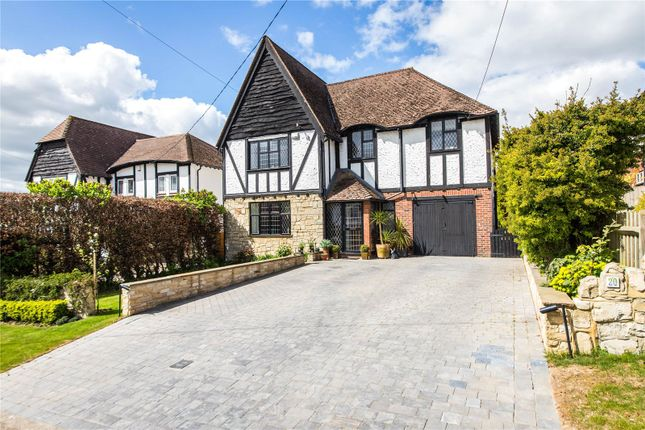 Thumbnail Detached house for sale in Charles Dickens Avenue, Higham, Rochester, Kent