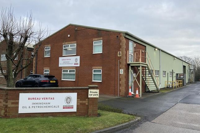 Thumbnail Commercial property for sale in Prince Henry Drive, Queens Road, Immingham, Lincolnshire
