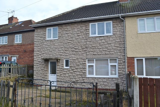Thumbnail Semi-detached house for sale in Cross Street, Upton, Pontefract