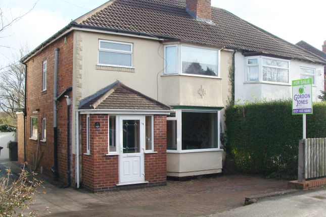 Thumbnail Semi-detached house for sale in Gunner Lane, Rubery