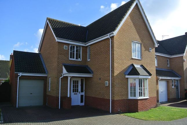 Thumbnail Detached house to rent in Rodber Way, Lowestoft