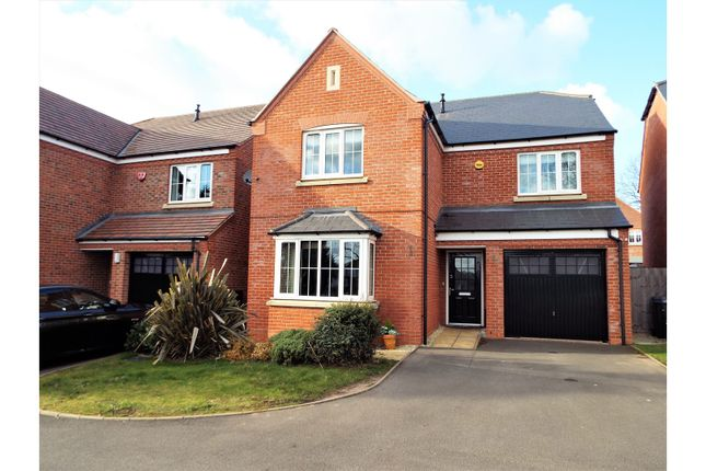 Thumbnail Detached house for sale in Kings Gate, Birmingham