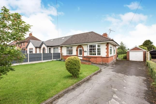 Thumbnail Bungalow for sale in Dig Lane, Wybunbury, Nantwich, Cheshire