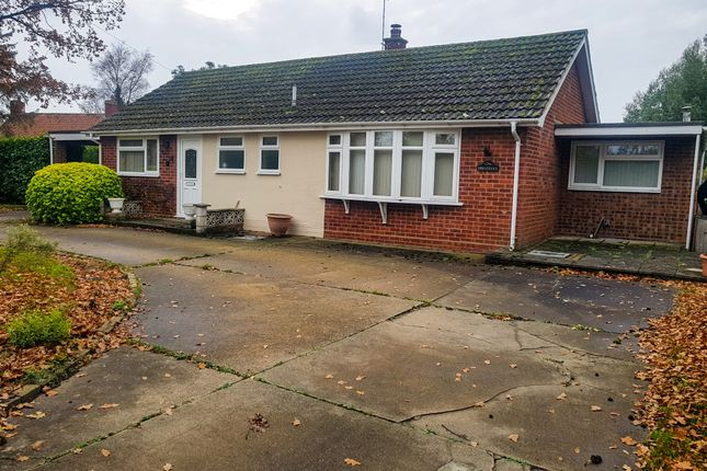 Thumbnail Detached bungalow for sale in Common Road, Aldeby, Beccles