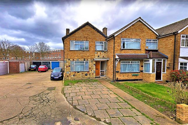 Thumbnail End terrace house for sale in St Matthews Close, Rainham