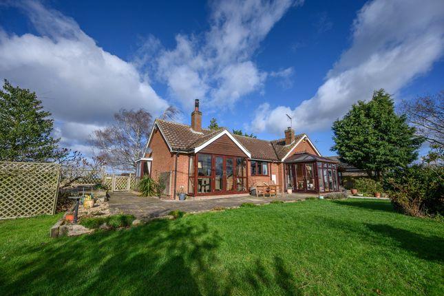 Thumbnail Detached bungalow for sale in Cuckoo Road, Stowbridge, King's Lynn, Norfolk