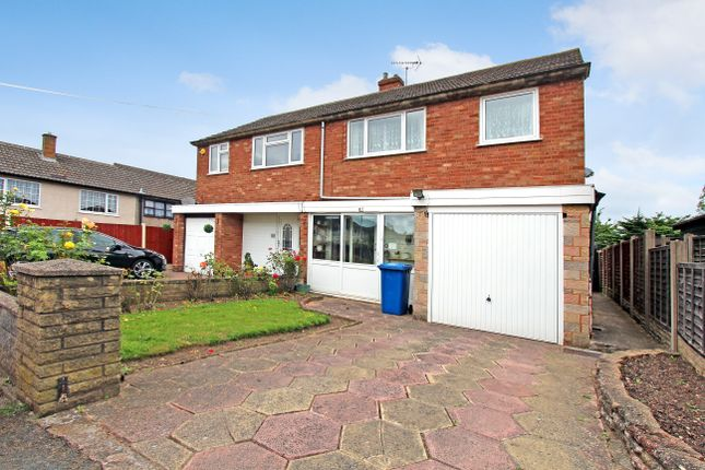 Thumbnail Semi-detached house for sale in Eliot Close, Tamworth