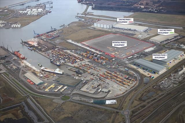 Thumbnail Light industrial to let in Teesport Logistics Park, Tees Dock, Middlesbrough