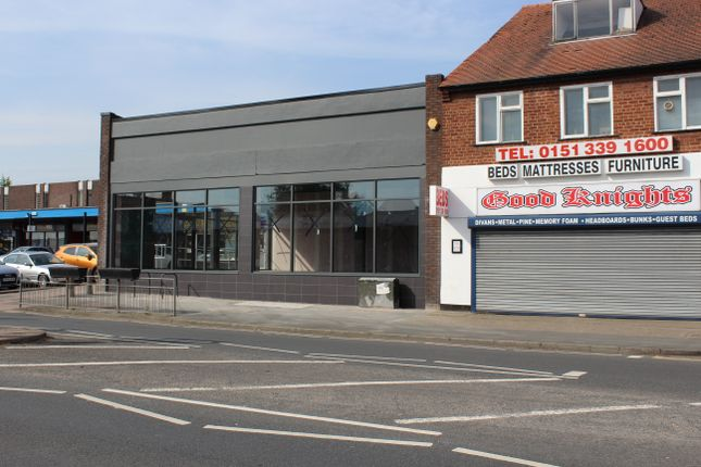 Thumbnail Retail premises to let in Chester Road, Little Sutton, Ellesmere Port