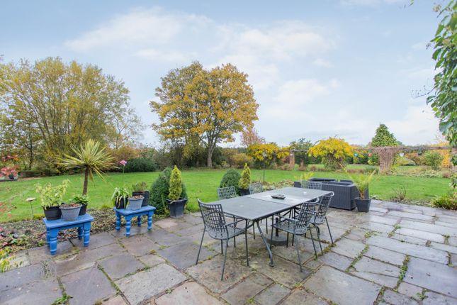 Garden of Mustard Lane, Croft, Warrington WA3