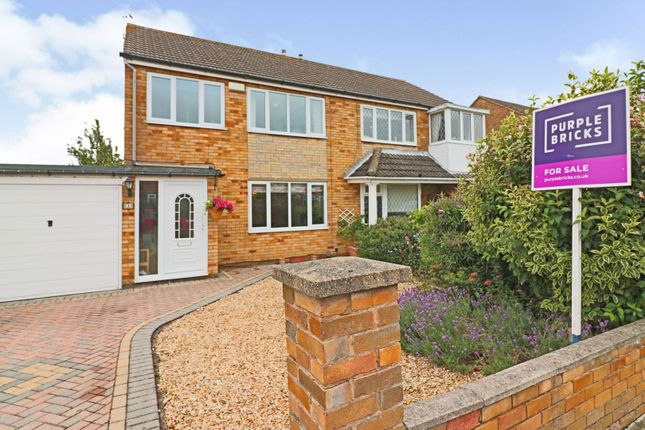Thumbnail Semi-detached house for sale in Clixby Close, Cleethorpes