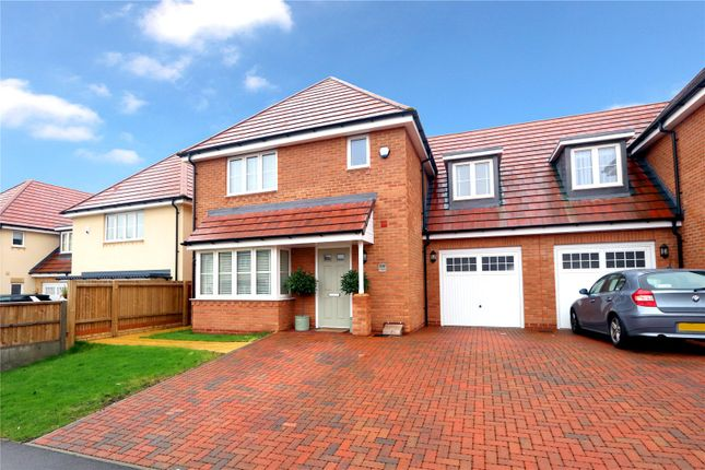 Thumbnail Semi-detached house for sale in Cunningham Way, Leavesden, Watford