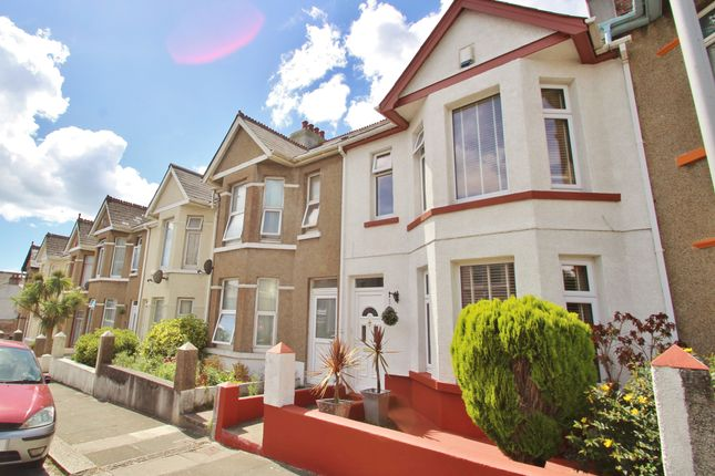 Thumbnail Terraced house for sale in Stroud Park Road, Plymouth